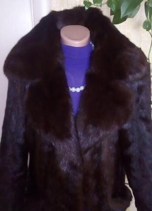 Натуральная норковая шуба/шуба/пуховик/пальто/куртка/норковая шуба/юбка/джинсы/платье2 фото