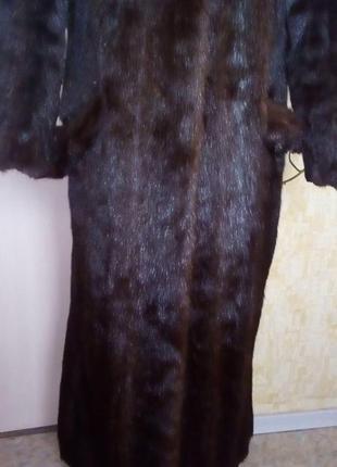 Натуральная норковая шуба/шуба/пуховик/пальто/куртка/норковая шуба/юбка/джинсы/платье5 фото