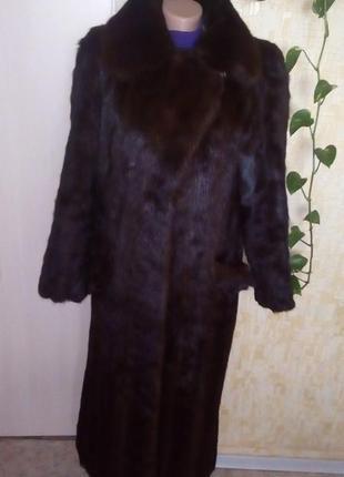 Натуральная норковая шуба/шуба/пуховик/пальто/куртка/норковая шуба