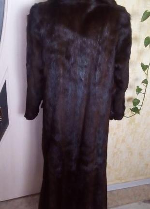 Натуральная норковая шуба/шуба/пуховик/пальто/куртка/норковая шуба/юбка/джинсы/платье4 фото