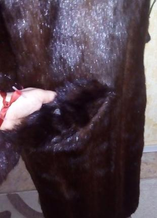 Натуральная норковая шуба/шуба/пуховик/пальто/куртка/норковая шуба/юбка/джинсы/платье7 фото