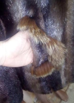 Норковая шуба отделка песцом/ шуба/ шубка/ полушубок/ шуба норка/шуба песец/пуховик/куртка/юбка/джин9 фото