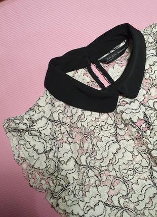 Блуза без рукавів zara
