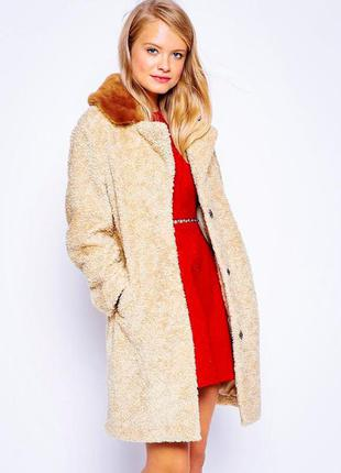 Крутое плюшевое пальто asos (+выбирай🎁)
