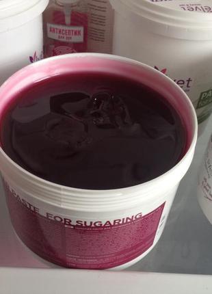Паста для шугаринга на фруктовых кислотах
