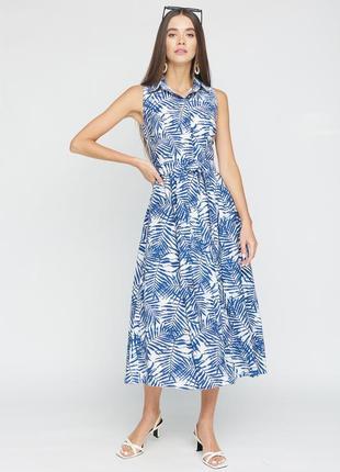 """Платье """"leslie"""" синий"""