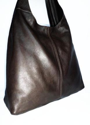 Женская  кожаная сумка,сумка  натуральная кожа vera pelle италия