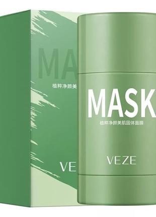 Маска для лица с экстрактом зеленого чая и азиатской центеллы 40 g