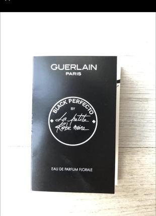 Новый пробник пробники духов духи guerlain black perfecto by la petite rebe none