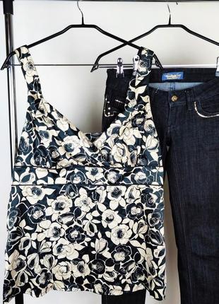 Шикарная красивая атласная майка блуза next турция этикетка