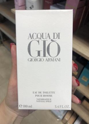 Giorgio armani acqua di gio pour homme 100мл original pack
