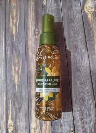 Спрей для тела и волос бурбонская ваниль