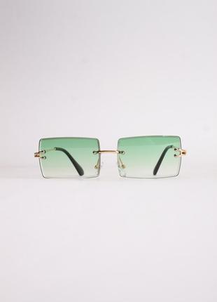 Окуляри прямокутні без оправи (очки прямоугольные)