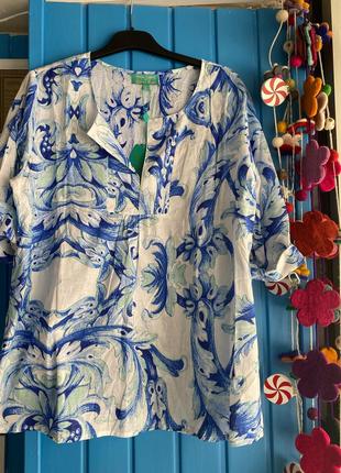 Хлопковая блуза италия