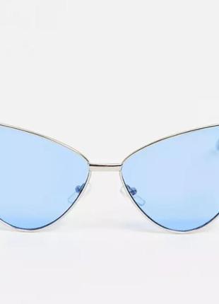 Очки aj morgan cat eye frame с голубыми линзами