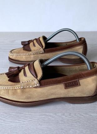Туфли лоферы bally кожа