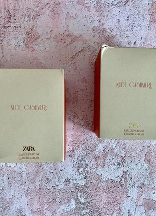 Парфуми zara nude cashmere2 фото