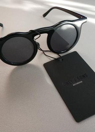 Солнцезащитные круглые очки тишейды датского бренда only&sons  европа оригинал