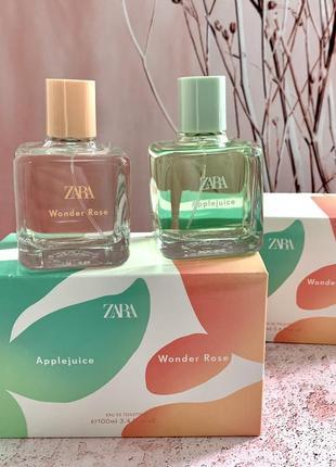 Жіночі парфуми zara wonder rose applejuice
