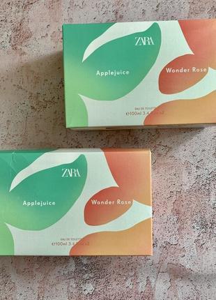 Жіночі парфуми zara wonder rose applejuice4 фото