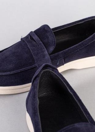 Туфли нат.замша3 фото