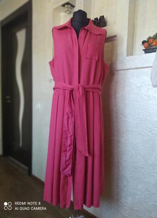 Платье лен viventi by berno birger
