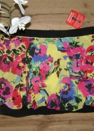 Asos яркая юбка на лето 12-размер