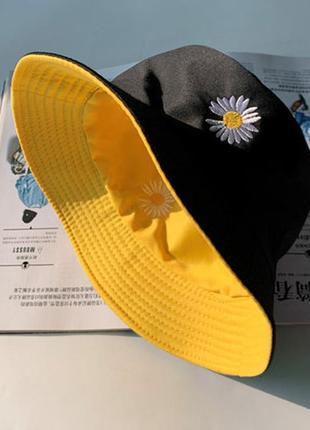 Панама двухсторонняя, панамка женская, шляпа, панамы, жіноча панама