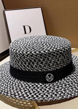 Трендовые шляпы- канотье
