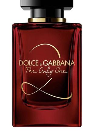Духи dolce & gabbana the only one 2 eau de parfum