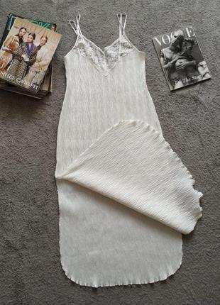 Винтажная ночная рубашка комбидресс платье