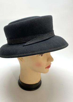 Шляпа фетровая marks&spencer, черная