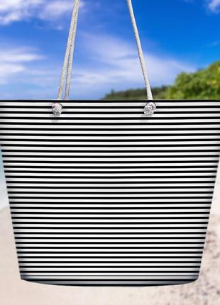 Пляжная сумка malibu полоска (mal_20j001)