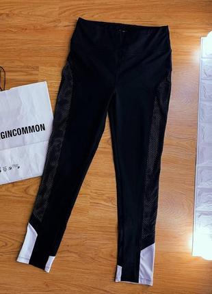 Спортивные компрессионные штаны брюки  леггинсы/одежда для фитнеса