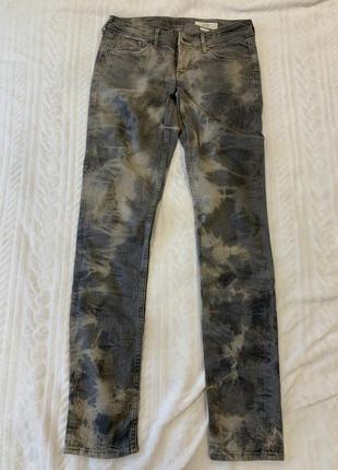 Стильные милитари джинсы h&m