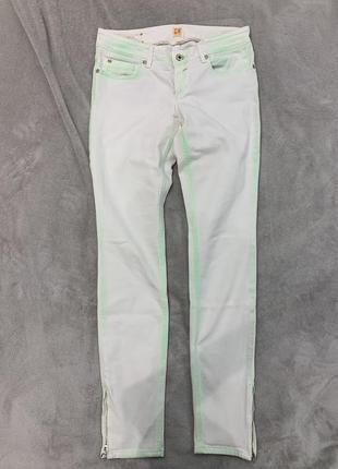 Стильные джинсы с неоновой отделкой ручной работы hugo boss orange, оригинал