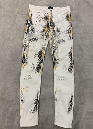 Необычные джинсы, принт змея, змеиный, guess marciano, оригинал