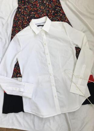 📌акція 1+1=3 📌 до 20.06 лише бавовняна біла рубашка від marks&spencer