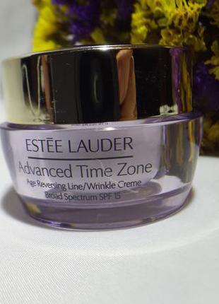 Estee lauder увлажняющий крем против старения кожи advanced time zone, 15 мл.