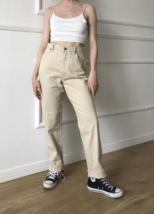 Молочные джинсы c jane's