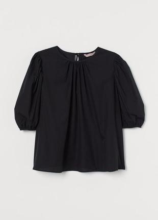 Новая хлопковая блуза h&m. размер хl.