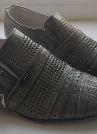 Новые кожаные мужские туфли