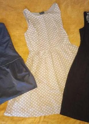 Пакет вещей: платье, сарафан.