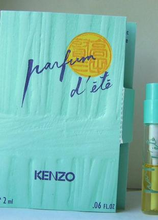 Kenzo parfum d'ete (1992) - edt - 2 мл. (spray) оригінал. вінтаж