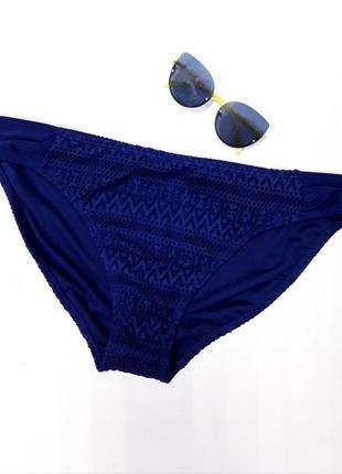 Синие плавки с ажуром george размер 20
