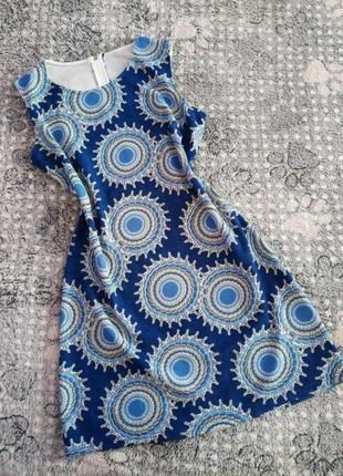 Плаття в гарний яскравий принт