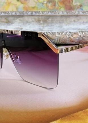 Эксклюзивные брендовые солнцезащитные очки маска  унисекс4 фото