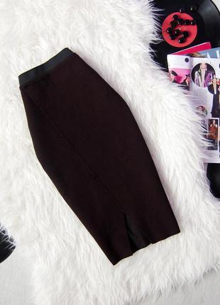 Бандажная юбка-карандаш   stradivarius  