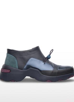 Новые кожаные кроссовки camper ботинки кожа ultralight кэмпер4 фото