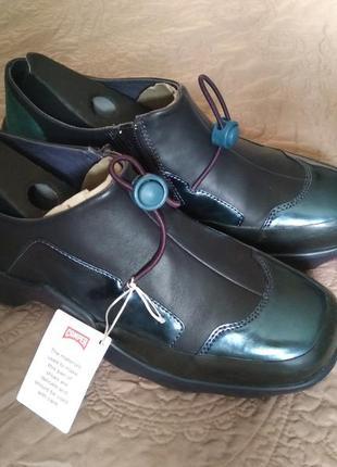 Новые кожаные кроссовки camper ботинки кожа ultralight кэмпер5 фото